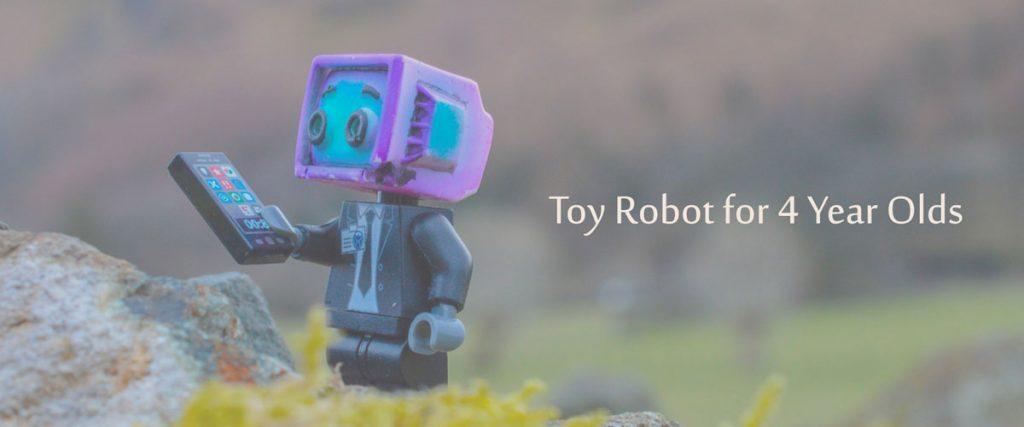 Jouets robotiques depuis 4 ans